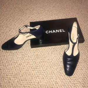 CHANEL Shoes - Chanel T-Strap Heels